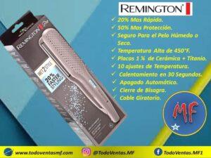 Plancha Remington Pro